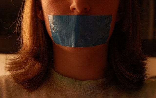 Censored Free Speech Duct Tape
