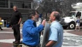 James Boster, Atheist, Christian, conflict, antagonizing