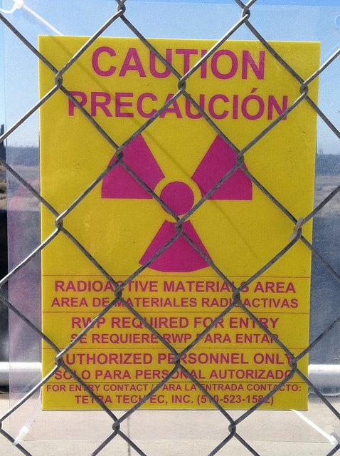 Radioactive Nuclear Warning Sign
