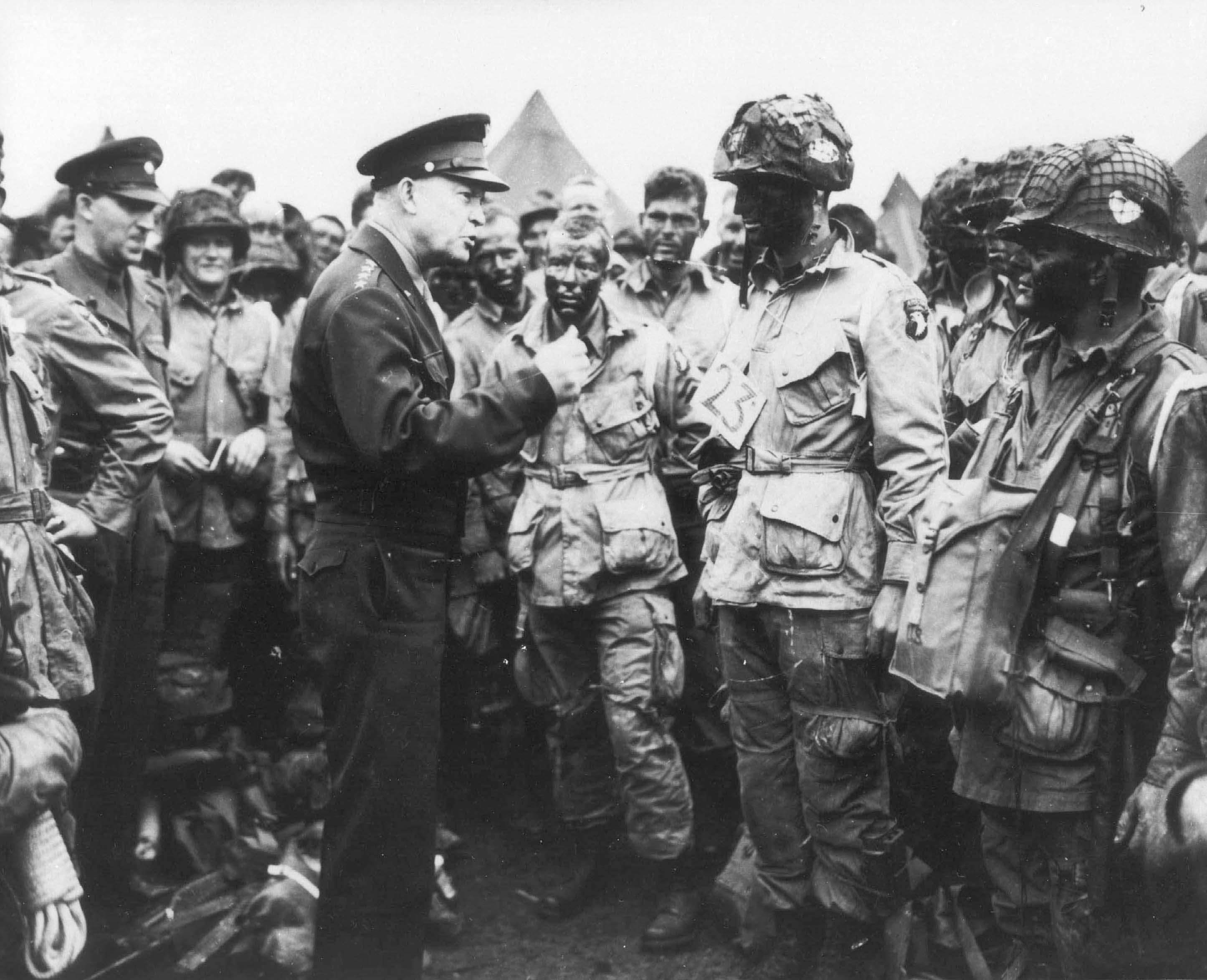 Normandy D-Day Invasion, Eisenhower, Paratroopers, history, WWII