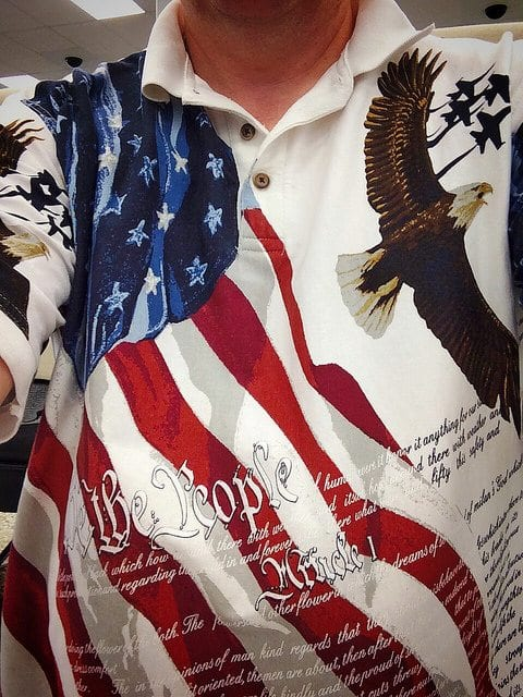 Banned American Flag American Flag Shirts Banned at