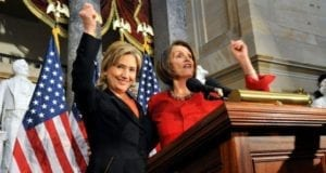 Hillary Clinton, Nancy Pelosi