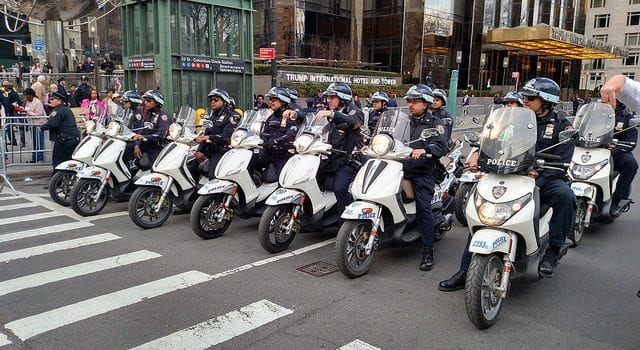 Police, Motocycles