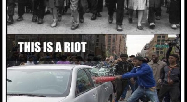 Protest vs Riot, Dr. Martin Luther King