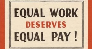 Equal work deserves equal pay