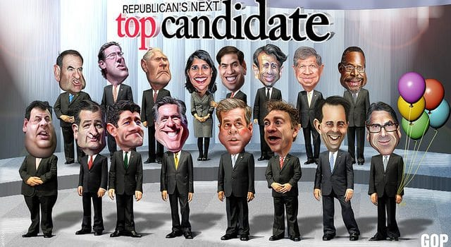 2016 Candidates, GOP, Republican