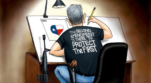 2nd Amendment, Protect, 1st Amendment