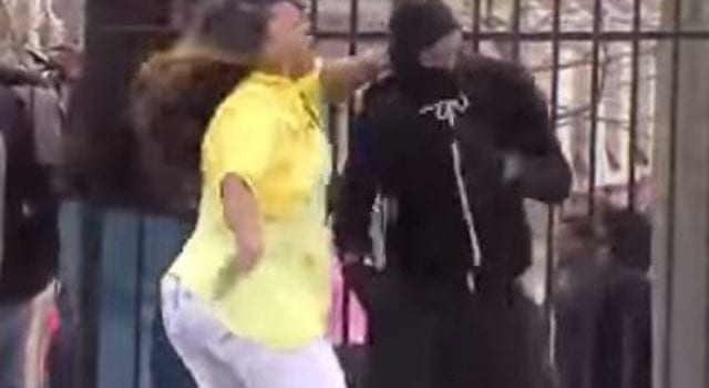 Baltimore Mom Teen, During Riots