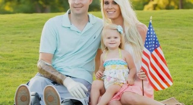 Brian Kolfage And Family, Memorial Day
