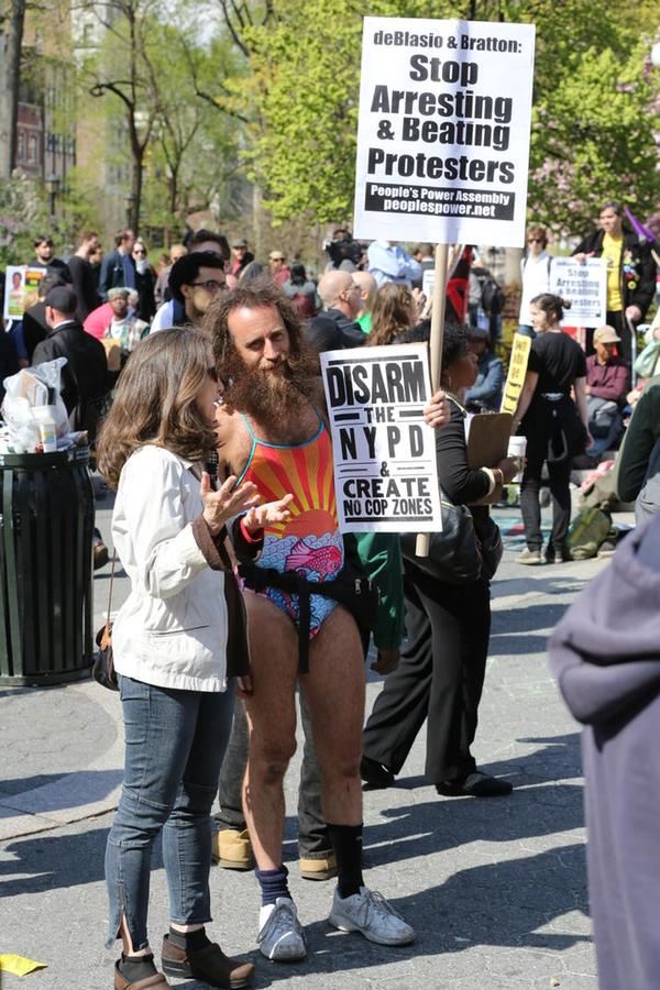 Disarm NYPD, Protest, May Day