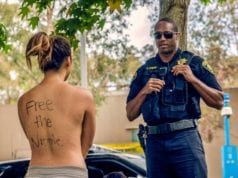FreeTheNipple Protest, UCSD, body shaming, indecency