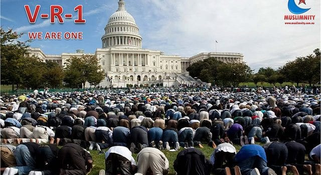 Muslim, Islam, Prayer, White House