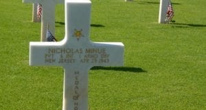 US Army Cemetery, cross