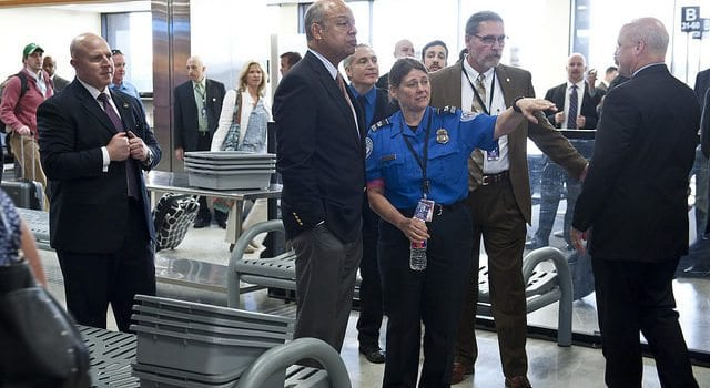 Airport Security, JehJohnson, US Department of Homeland Security, DHS