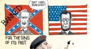 Banning Flags, Confederate Flag, American Flag