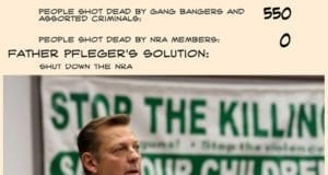 Father Michael Pfleger, Catholic, gun control