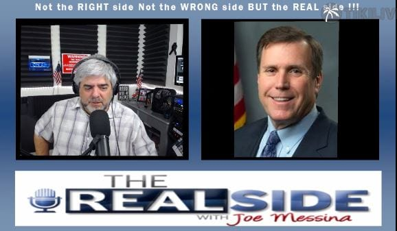 Joe Messina, The Real Side, Assemblyman Scott Wilk