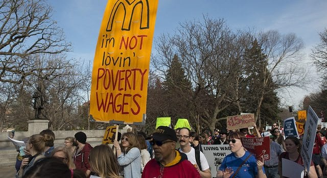 Minimum Wage, Protest, 15 dollars