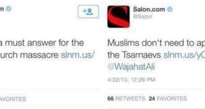 Salon Hypocrisy, White People, Muslim, Tragedies
