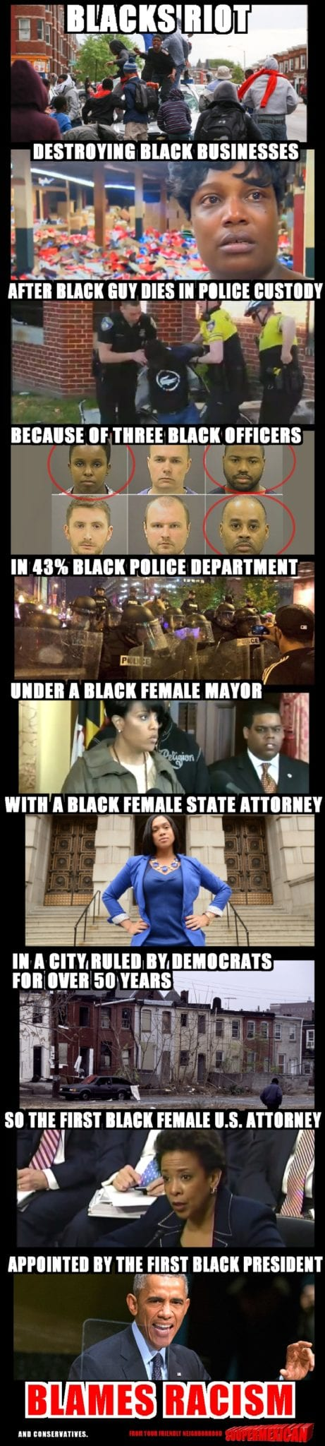 THE BALTIMORE STORY, Because Racism