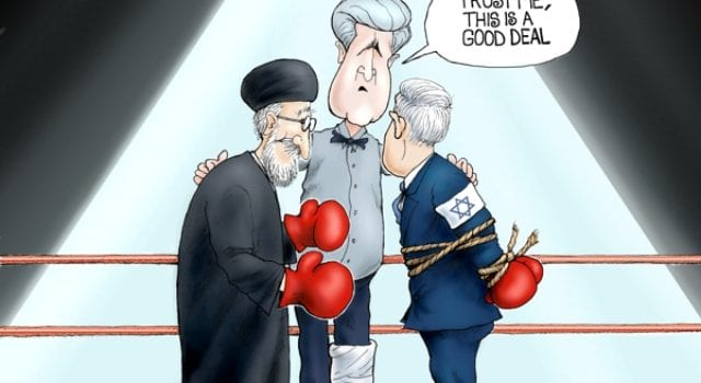 Iran Deal, John Kerry, Netanyahu, Hands Tied