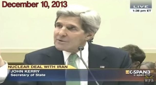 John Kerry, Iran Deal, No Nukes, Nuclear, Video Still