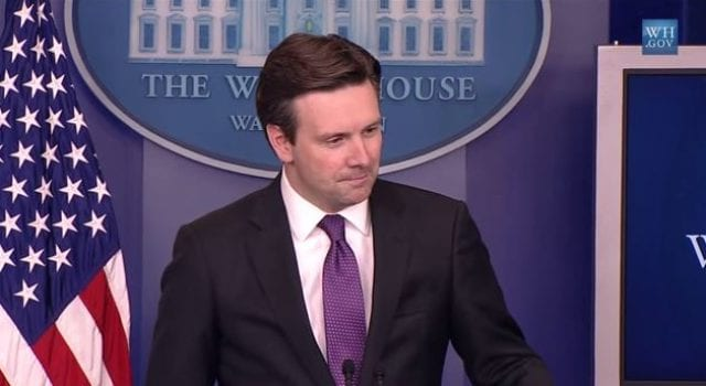 Josh Earnest, White House, Spokesman