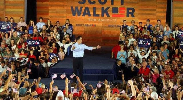 Scott Walker, Campaign Announcement