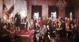 US Constitution Signing, History