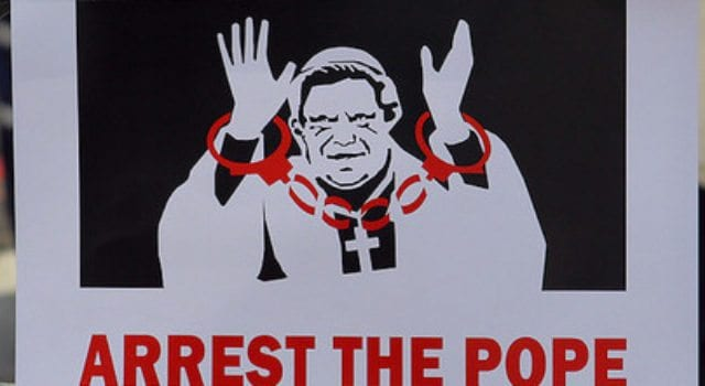 Arrest The Pope, Christian persecution