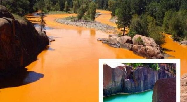 Colorado Animas River-, EPA spill, toxic waste