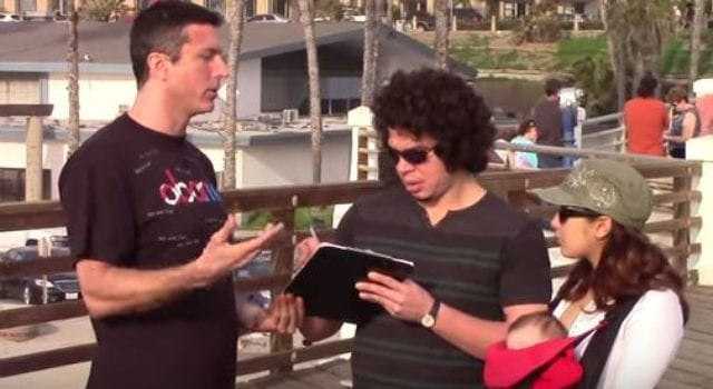 Mark Dice, Support Illiteracy, video still