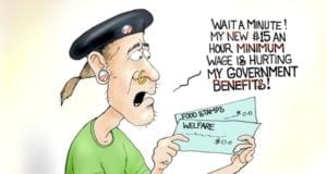 Minimum Wage Hike, Kills Welfare Benefits