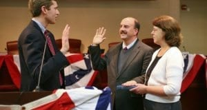 Oath, Swearing In, Hand On Bible