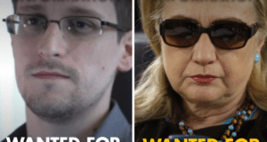 Snowden For Treason, Hillary For President, Sarah PAC