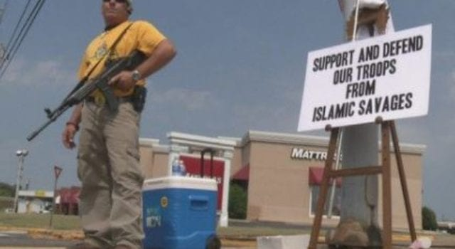 Support And Defend Troops From Islamic Savages