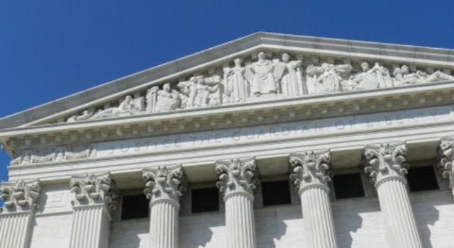 Supreme Court, Justice the Guardian of Liberty, Moses