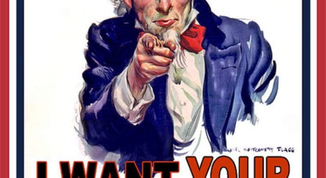 Uncle Sam, I Want Your Data
