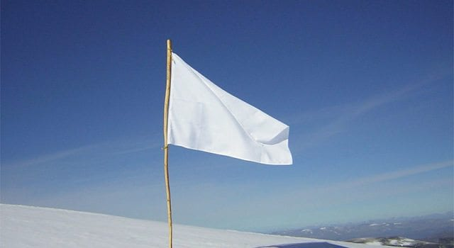 White Flag, Surrender