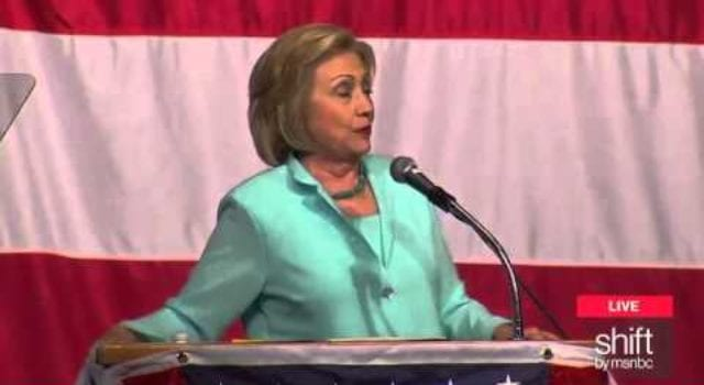 Hillary Clinton, video still