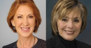 Carly Fiorina, Barbara Boxer