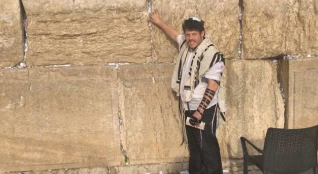 David Weissman, At Kotel, Western Wall-WailingWall-Israel