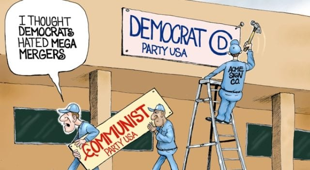 Democrat, Socialist, Merger