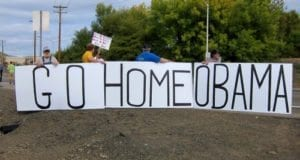 Go Home Obama, Roseburg OR