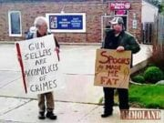 Gun Sellers Are Accomplices to Crimes, Spoons Made Me Fat, Meme