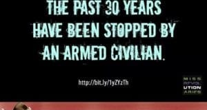 No Mass Shootings In The Past 30 Years Have Been Stopped By An Armed Civilian, MEME, Mass Revolutionaries
