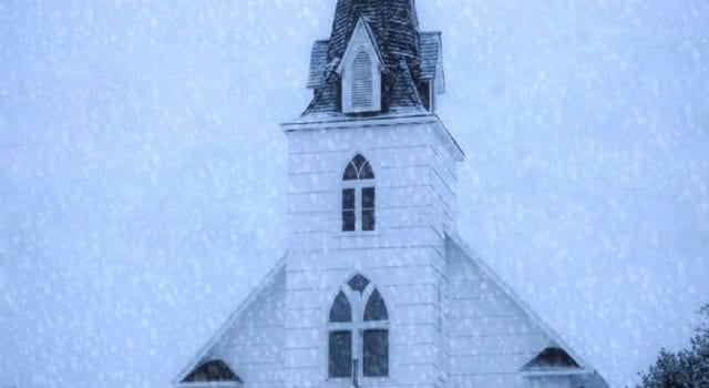 Church, Winter