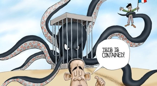 ISIS is Contained, Obama