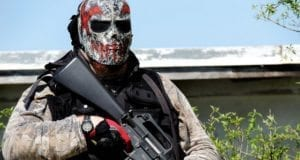 Masked Gunman, Airsoft, Paintball