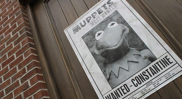 Muppets, Kermit, Wanted Poster